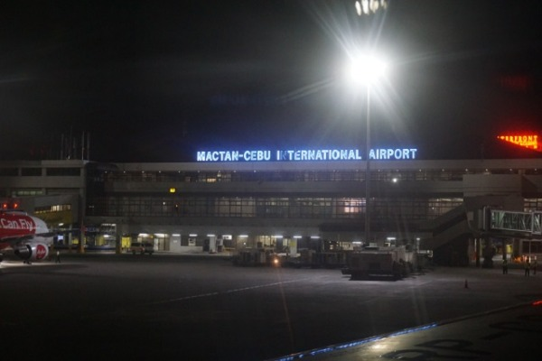 セントレア/セブ直行便レポート マクタンセブ空港