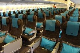 ガルーダ航空 エコノミークラス