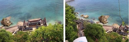 アヤナ・リゾート&スパ・バリ チャペル内から見た景色