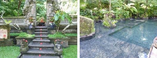ロイヤルピタマハ 湧水を使った神聖なプール