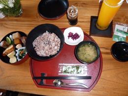 ヴィラアイルバリ 朝食の日本食