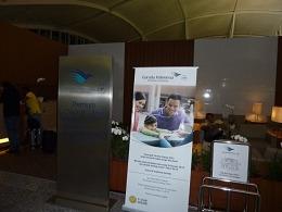 ガルーダ航空 プレミアムチェックインカウンター