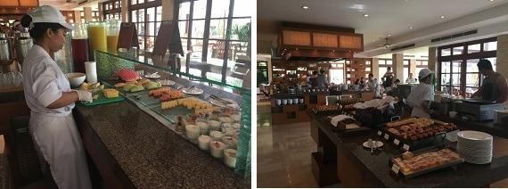 グランドハイアットバリ 朝食会場