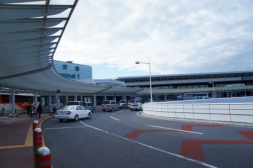 成田空港を出発