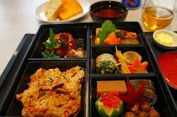 シンガポール航空 機内食 花恋暦