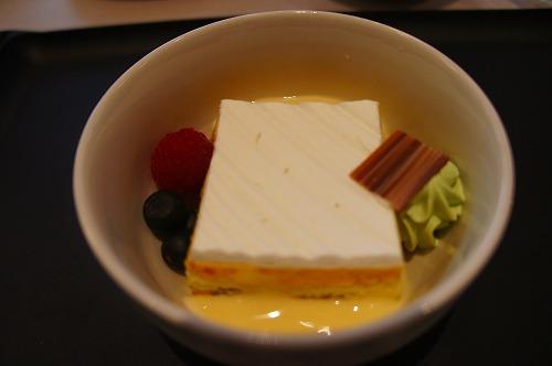 シンガポール航空 機内食 デザート