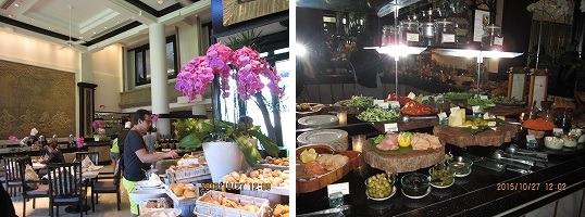 インターコンチネンタルバリリゾート クラブラウンジ 朝食-1