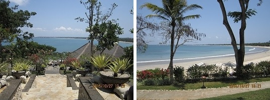 フォーシーズンリゾート バリ アット ジンバランベイ プライベートビーチ