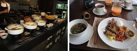 マンダパ・ア・リッツカールトン・リザーブ 朝食-1