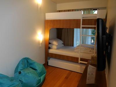 パドマリゾート レギャン ファミリールーム 2段ベッド
