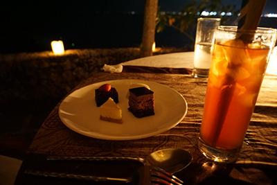 ロマンティックガゼボディナー デザートとドリンク