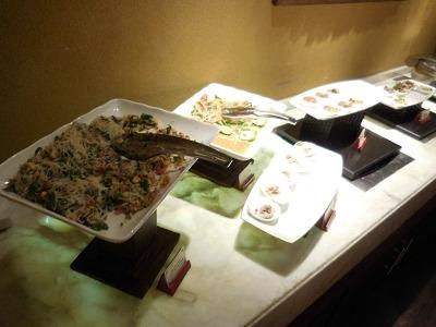 アヤナ リゾート&スパ バリ クラブラウンジ 夕食前のオードブル-3