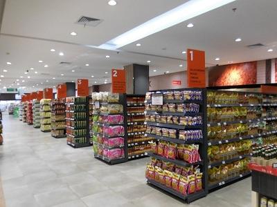 リッポモール内のスーパーマーケット