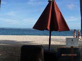 ストランドヴィラ 部屋専用のビーチチェア