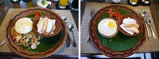 ヴィラ アイル バリ 朝食-1