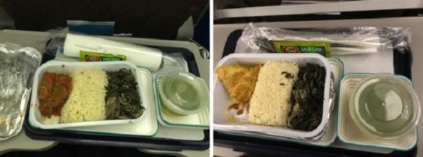 ガルーダインドネシア航空  国内線機内食