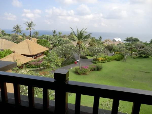 アヤナ リゾート&スパ バリ ジンバランベイビュー眺望