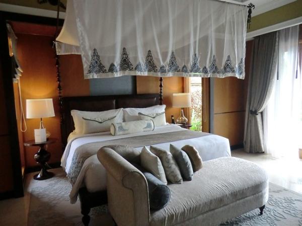 1ベッドルームオーシャンビュープールヴィラ ベッドルーム
