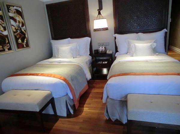 インターコンチネンタル バリ リゾート ベッドルーム