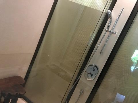 ジュニアスイートwithプールアクセス シャワールーム