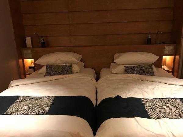 パドマリゾート レギャン デラックスシャレー ベッドルーム