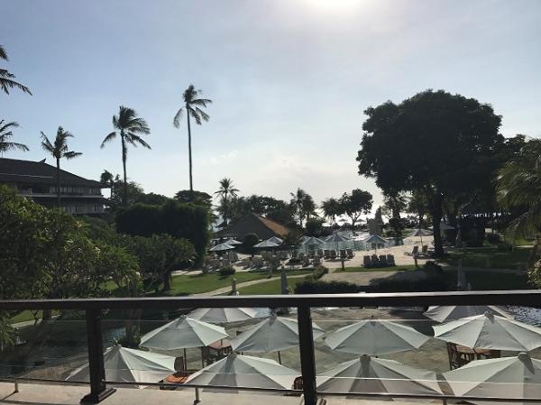 ディスカバリー・カルティカ プラザ ホテル ロビーからの景色