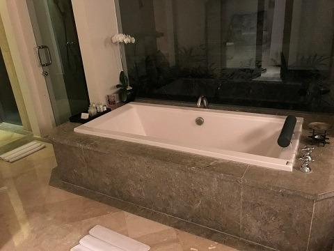 ヴィラ アイル バリ 2ベッドルームプールヴィラ バスルーム