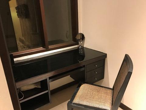 ヴィラ アイル バリ 2ベッドルームプールヴィラ 化粧台
