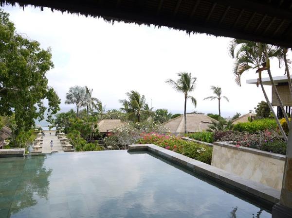 アヤナ リゾート&スパ バリ ロビーからの眺望