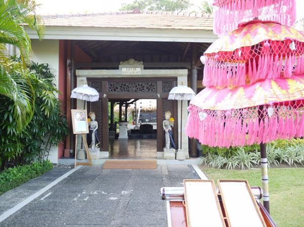 メリア バリ レストラン入口