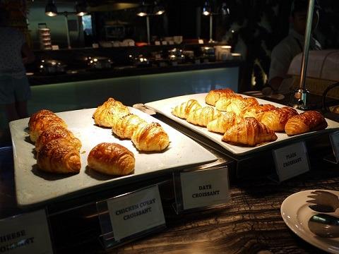 パドマリゾート レギャン 朝食 人気のクロワッサン