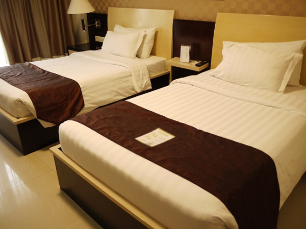 アストン クタ ホテル&レジデンス ベッドルーム