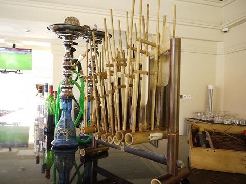 パドマリゾート ウブド 地元の楽器(アンクルン)