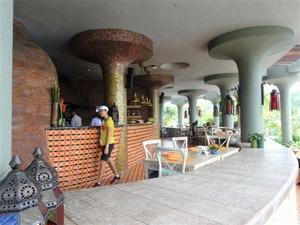 パドマリゾート ウブド プールそばのレストラン