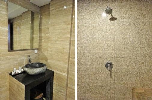 バクンウブド スタジオスイート バスルーム