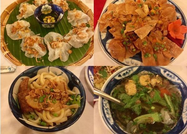 ベトナム料理 ホイアン名物の数々
