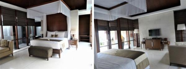 ザ・カヤナ プールヴィラ ベッドルーム