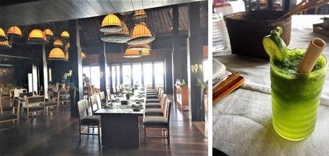 ブルガリ・リゾート・バリ サンカールレストラン