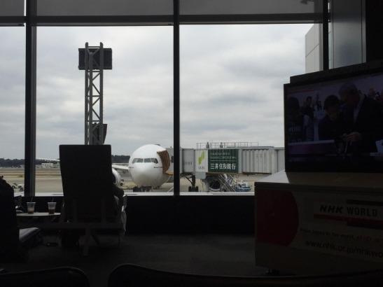 成田空港 ボーディング