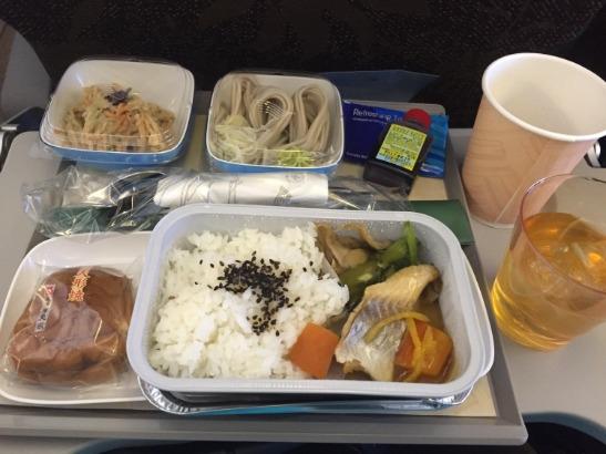 ガルーダインドネシア航空 機内食(和食)