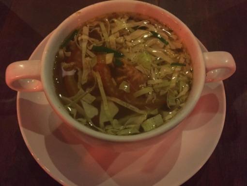 クマンギレストラン チキンスープ