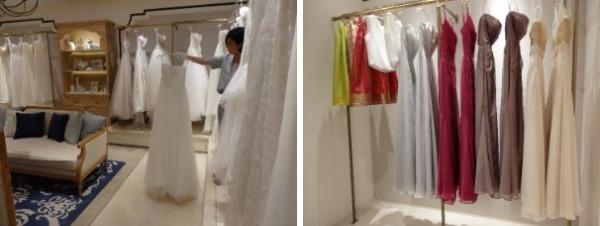 ※満喫ウェディング基本プラン内のドレスの一例。チュチュが可愛らしい。