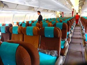 ガルーダインドネシア航空 エコノミークラス