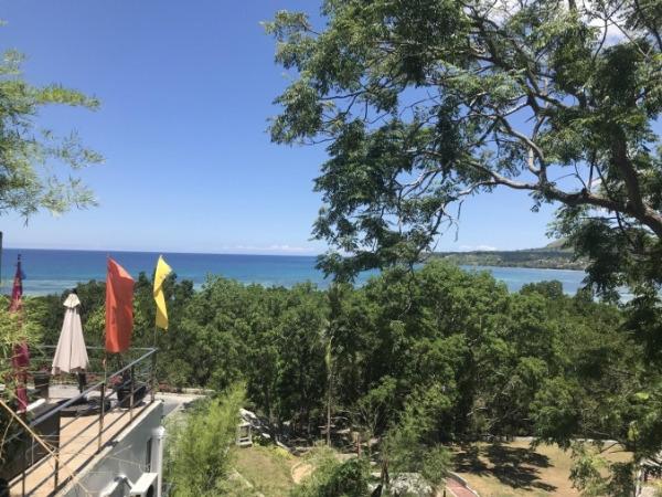 ボホール島 血盟同盟記念碑からの景色