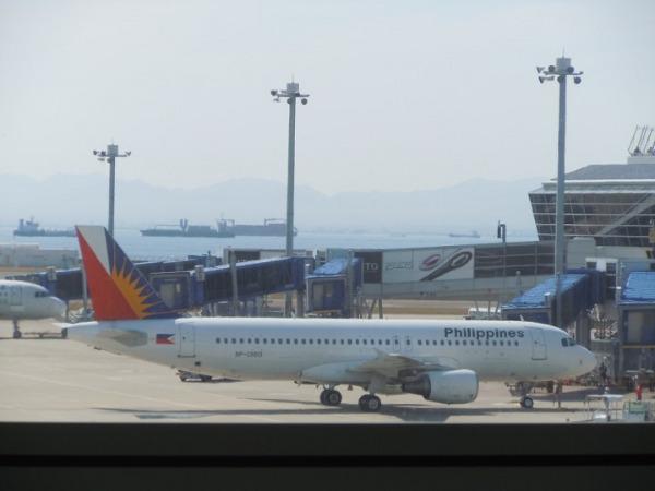 搭乗した機材はエアバスA320-200 140名ほどの座席数となります。