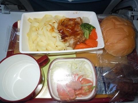 フィリピン航空 機内食 洋食