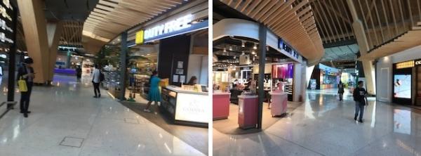 マクタン・セブ国際空港 飲食店や免税店