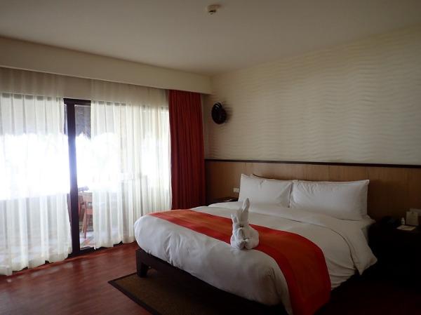 サウスパームスリゾート パングラオヴィラ ベッドルーム