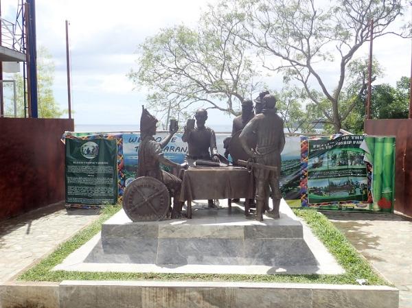 ボホール島 血盟記念碑