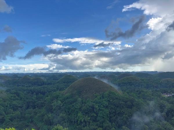 チョコレートヒルズ 頂上からの絶景